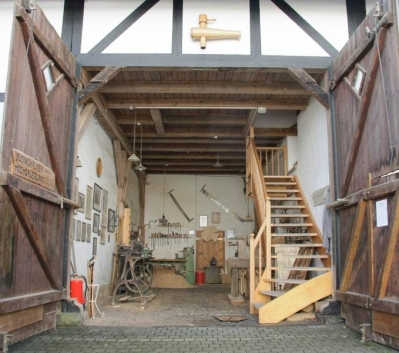 Aufzug zum Kulturspeicher Medebach Düdinghausen