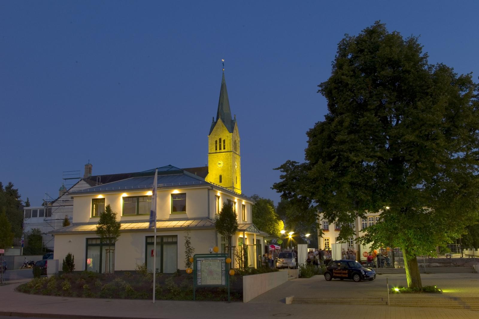 Der Marktplatz in Medebach