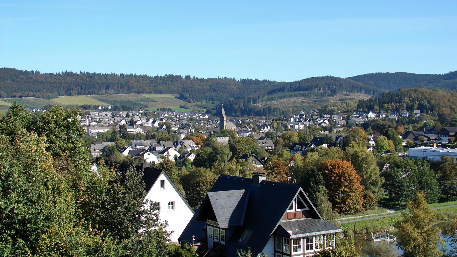Blick auf Olsberg (Photo: Harald Helmlechner)