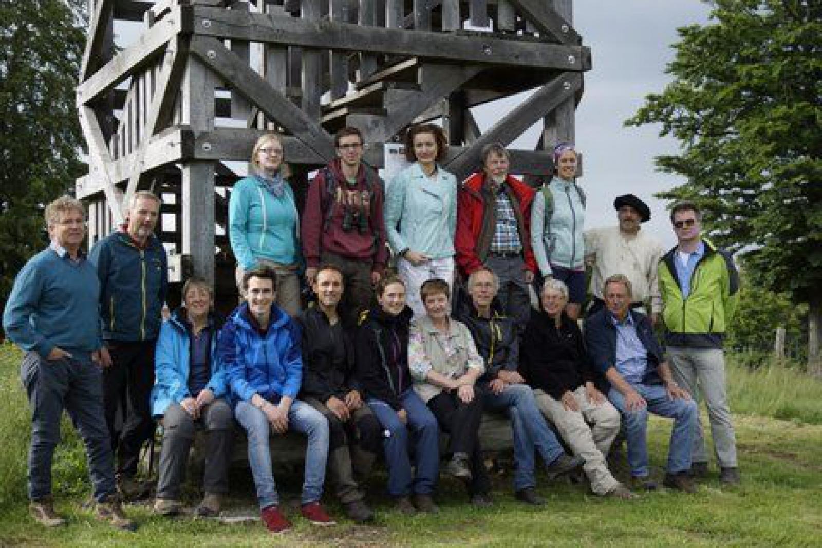 Der Lehrgang zum Zertifizierten Natur- und Landschaftsführer hat am 25. - 26. Juni 2016 auf der Schwalenburg begonnen