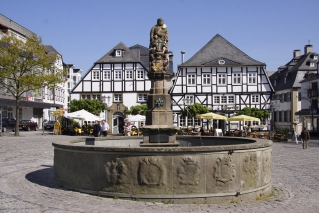 Der Petrusbrunnen in Brilon (Photo: Stefan Kampf)