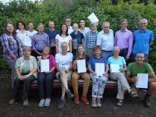 15 neue Natur- und Landschaftsführer ausgebildet