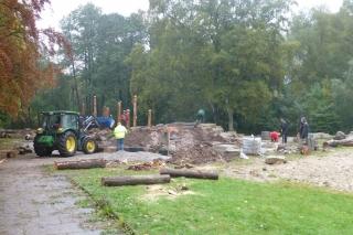 Die Bauarbeiten haben begonnen!