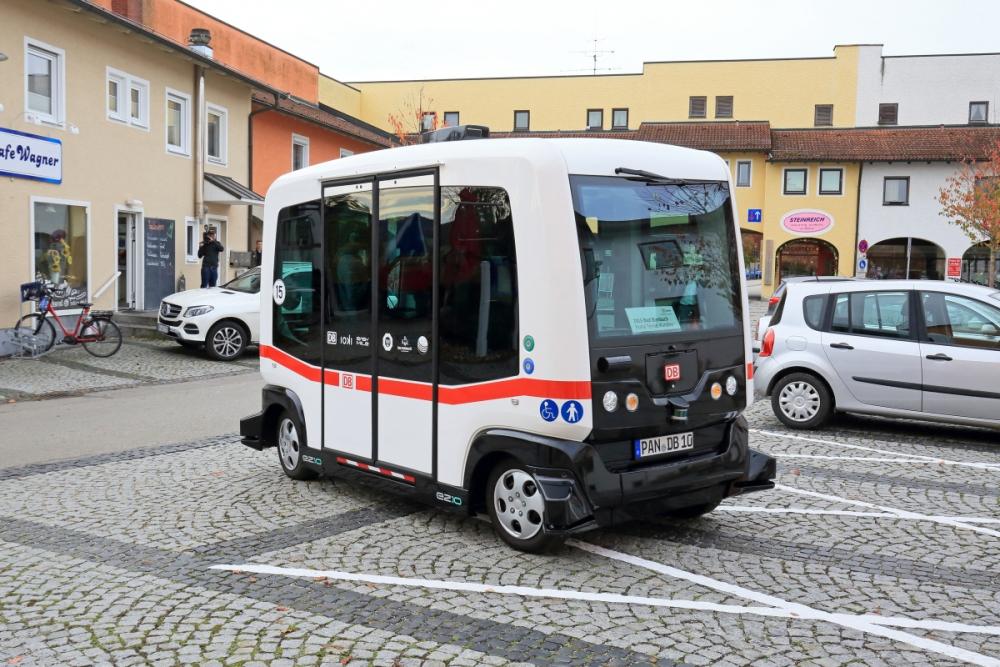 Machbarkeitsstudie Autonomer Kleinbus