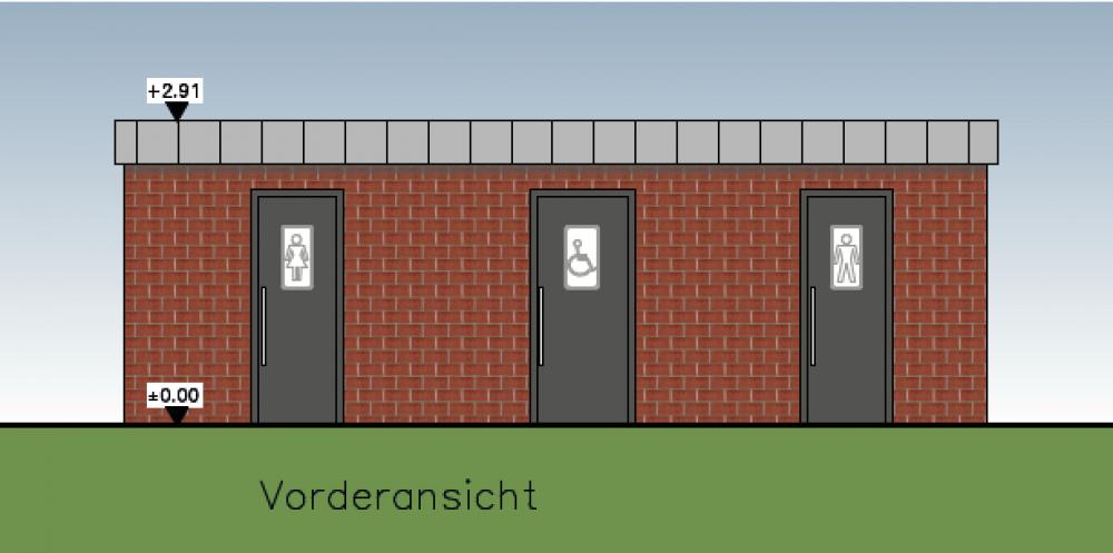 Toilettenanlage am Hillebachsee