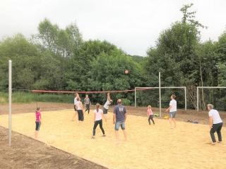 Beachvolleyballplatz in Hallenberg  (Foto: Rita Maurer)