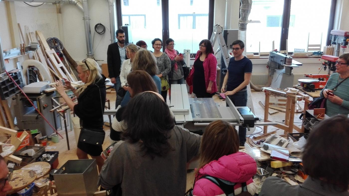 Besuch bei dem Projekt i-Motion in Wörgl Tirol