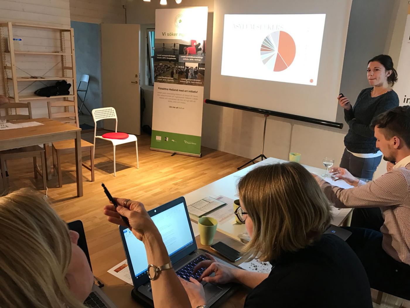Präsentation der LEADER-Region Kufstein in Österreich
